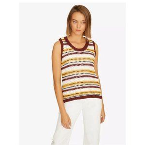 ANTHRO SANCTUARY Sunland Striped Knit Top